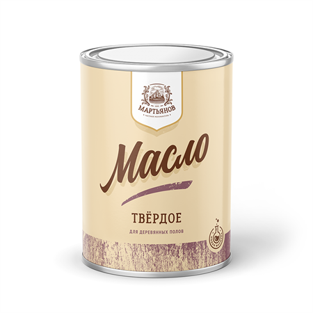 Твёрдое масло для деревянных полов «Мартьянов» - фото 4955
