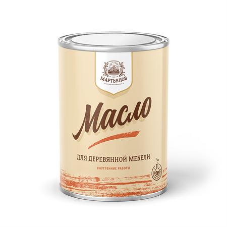 Масло для деревянной мебели «Мартьянов» - фото 4956
