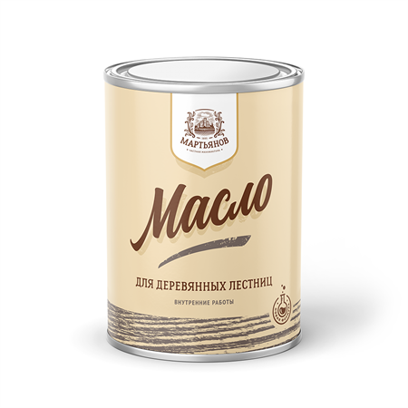 Масло для деревянных лестниц «Мартьянов» - фото 4957