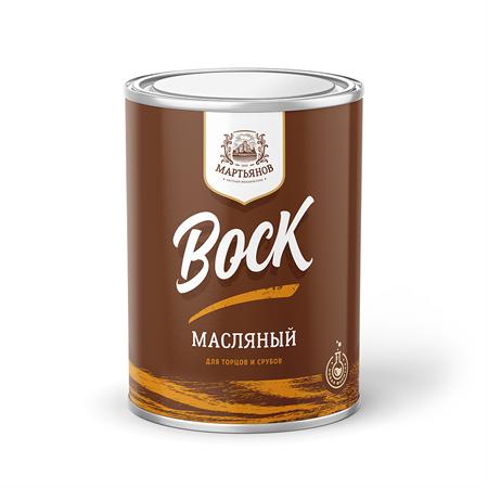 Воск масляный для торцов срубов «Мартьянов» - фото 4963