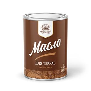 Масло для террас «Мартьянов»