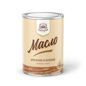Масло для бочек и купелей «Мартьянов»