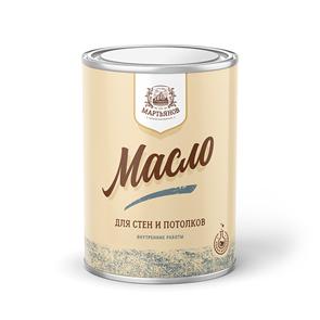 Масло для стен и потолков «Мартьянов»