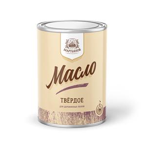 Твёрдое масло для деревянных полов «Мартьянов»