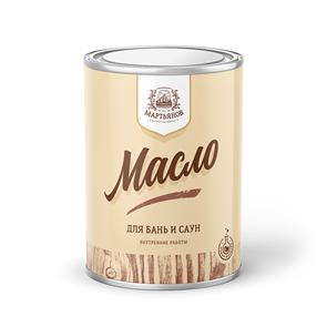 Масло по дереву для бань и саун «Мартьянов»