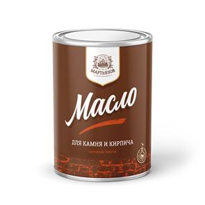 Масло по камню и кирпичу «Мартьянов»